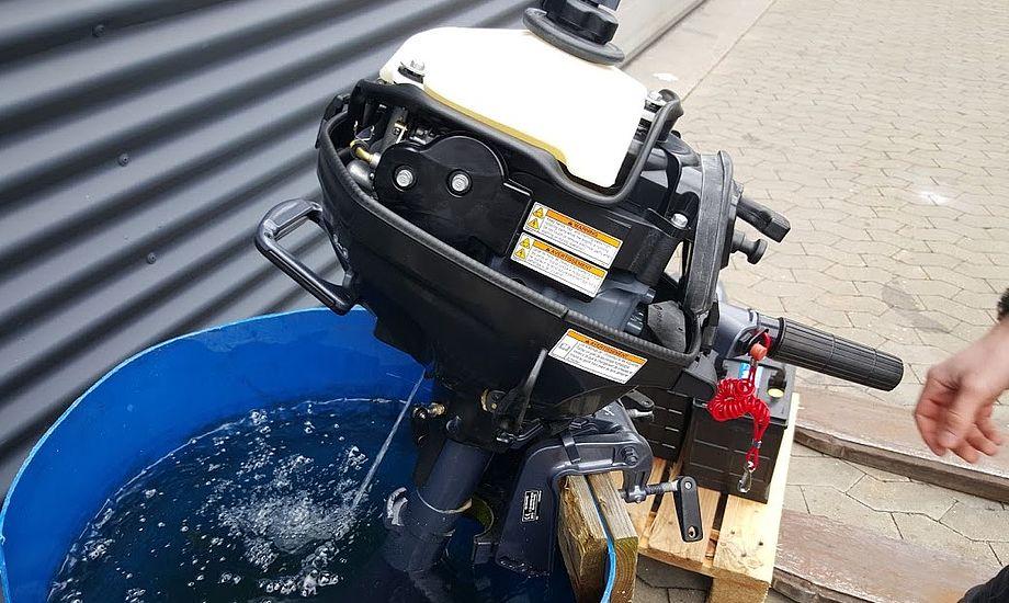 Vinterklargøring kan betyde en længere levetid for påhængsmotor. Foto:Troels Lykke