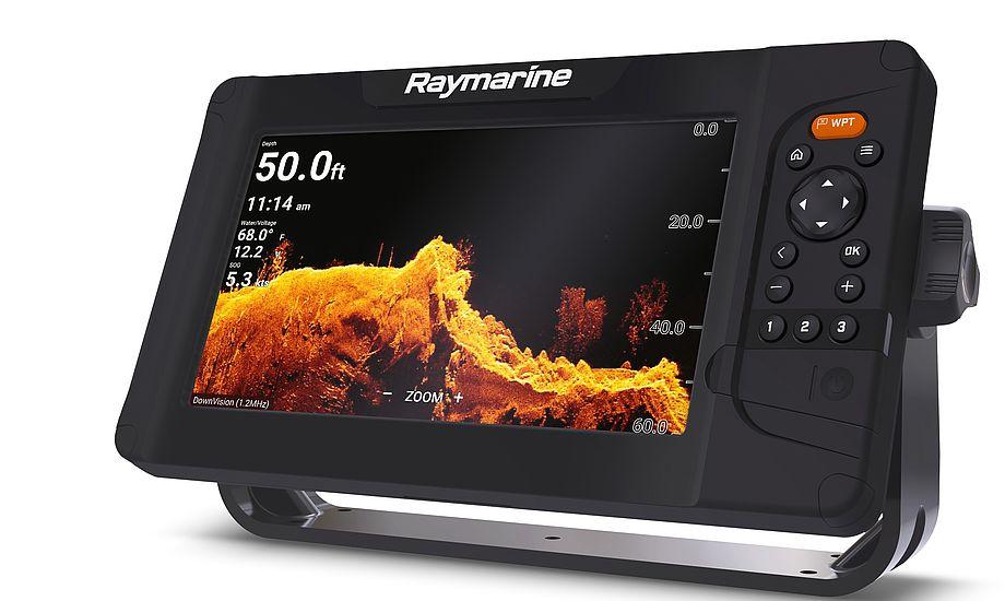 Elementserien er udstyret med Raymarine RealVision™ 3D og den nye HyperVision™ sonarteknologi, der giver naturtro billeder. PR-foto