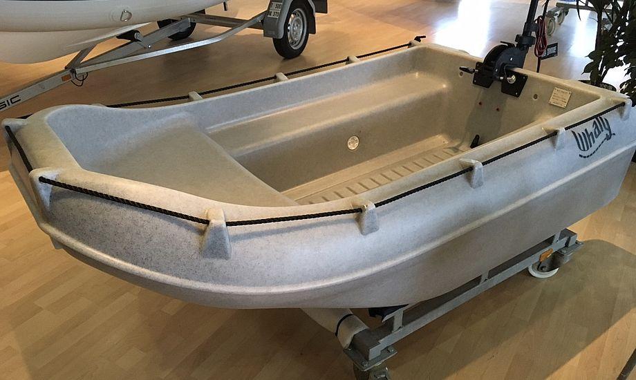 Se denne Whaly 210 på Fredericia Boat Show. Foto: Boat Show