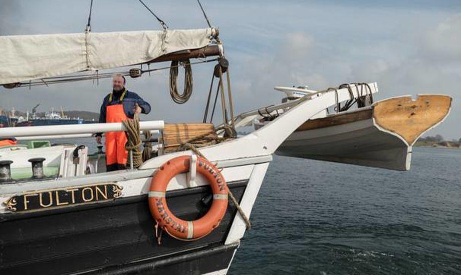 Chefskipper på Fulton, Jakob Jensen, påmønstrede i 1994 og har været chefskipper siden 2002. Foto: Søren Stidsholt Nielsen.
