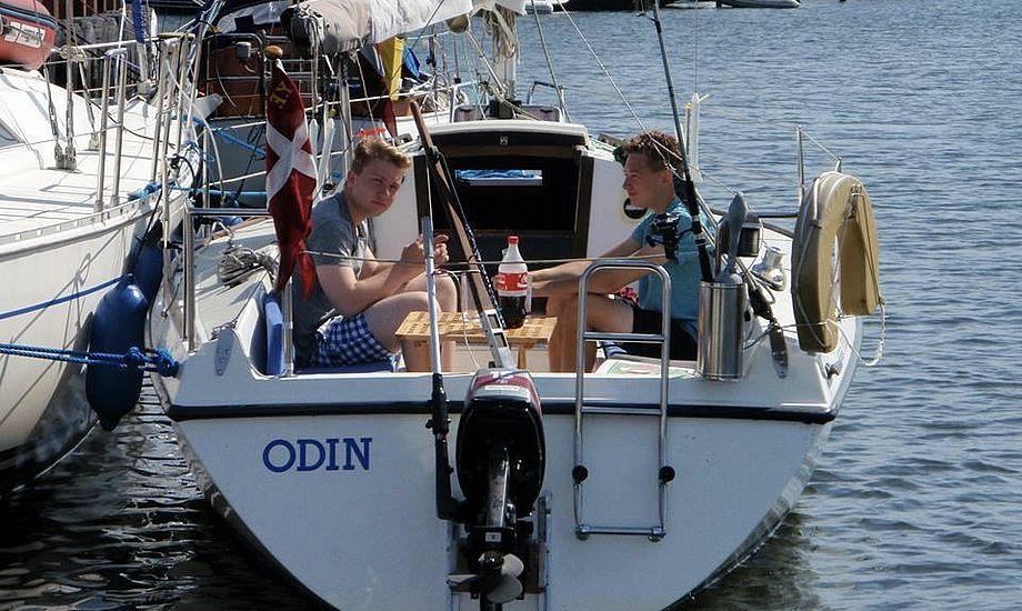 Der bliver sandsynligvis rig mulighed for at nyde solen i cockpittet i juli. Foto: Uge 29 Ungdomscruise