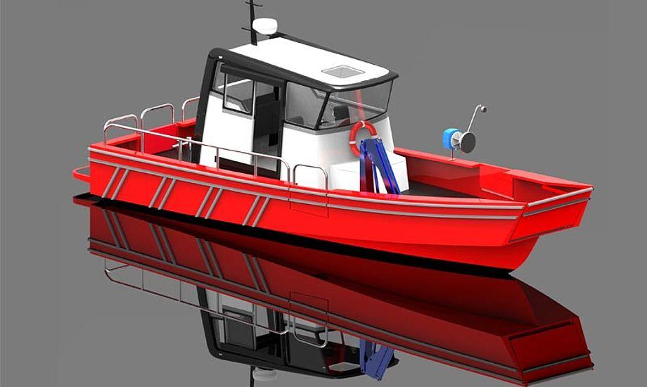 ProZero 10,5 DC Archipelargos skrogdesign er baseret på de velkendte og afprøvede skrog fra Tuco's Guard-serie. Foto: Tuco Marine