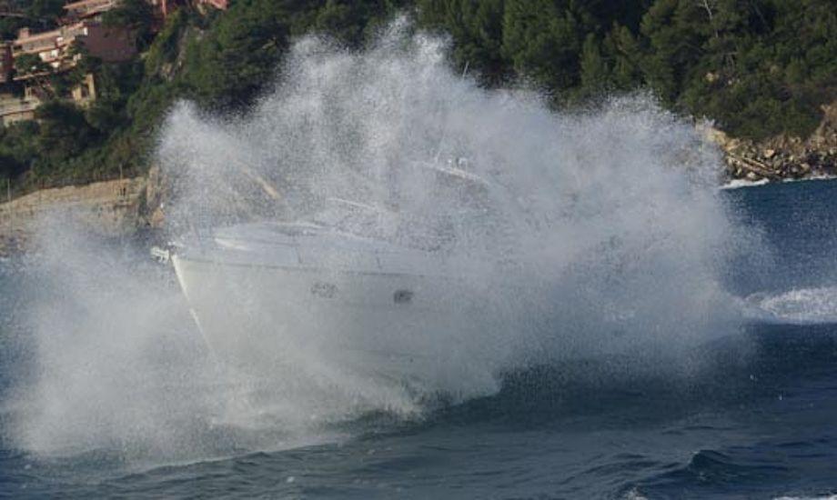 Bavaria 28 Sport ud for Alassio i Italien. Foto: Troels Lykke