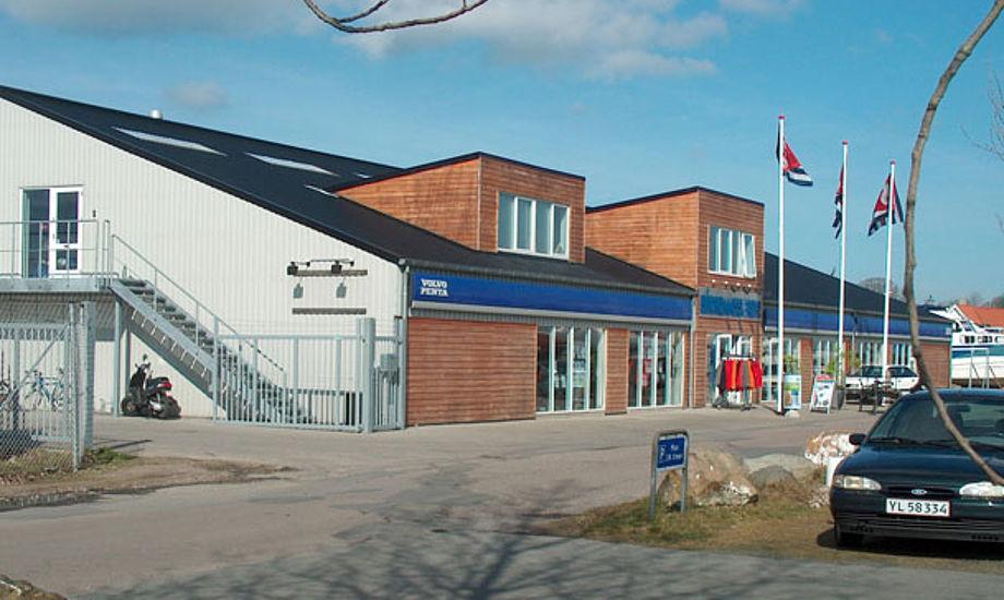 Bådkommissæren i Kerteminde gik ned med flaget for anden gang, et gæt er at Nibe-Hansen familien nu er fortid i firmaet.