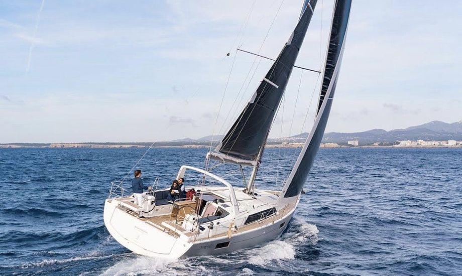 Beneteau Oceanis 41.1 kan erhverves for lidt over halvanden million. Foto: PR-foto
