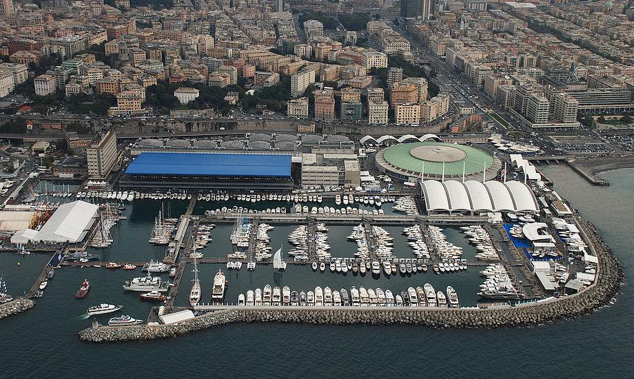 300.000 kvadratmeter til lystyachts og udstyr.