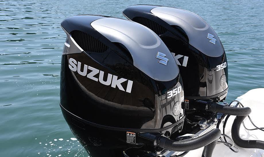 Effektivitet, driftssikkerhed og stabilitet, samt kraft og hastighed udgør nogle af motorens vigtigste faktorer, og gør den nye DF350A til den ultimative 4-takts påhængsmotor, fortæller Suzuki. PR-foto