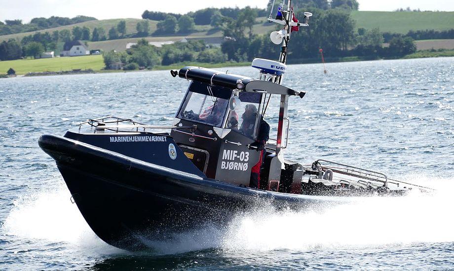 MIF-03 Bjørnø er et nyt indslag i Det Sydfynske Øhav. Foto: Søren Stidsholt Nielsen, Søsiden, Fyns Amts Avis
