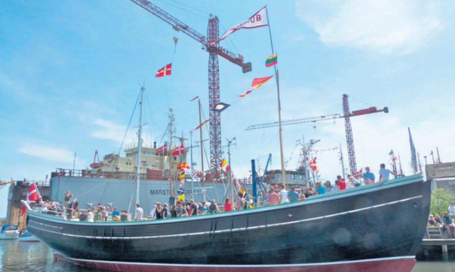 Siden 2012 har skonnerten Bonavista stået urørt til udstilling. Nu skal skibet gøres sejlklar igen. Foto: Søren Stidsholt Nielsen, Fyns Amts Avis.