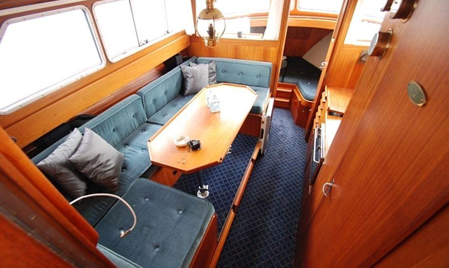 Læs mere om denne Storö 34 i artiklen. Foto: Bådmægleren Vejle