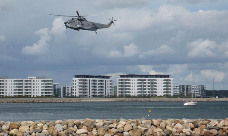 Med en stor askesky hængende i luftrummet over Danmark, overvejer Flyvertaktisk kommando om flyvning med redningshelikoptere skal indstilles