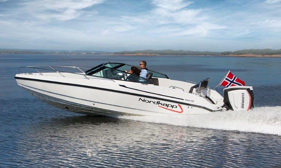 Avant 705 er en de både, der om få måneder vil kunne ses i Ishøj hos Tempo Bådsalg. PR-foto