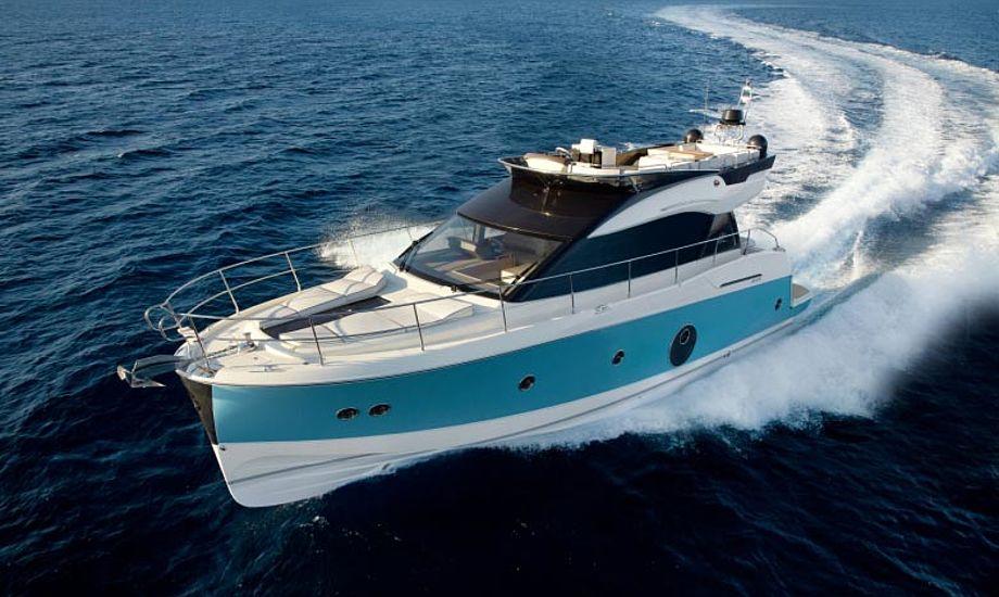 Beneteau Monte Carlo 5 vandt Boat of the Year i Powerboatklassen, for motorbåde over 45 fod. Foto: Beneteau