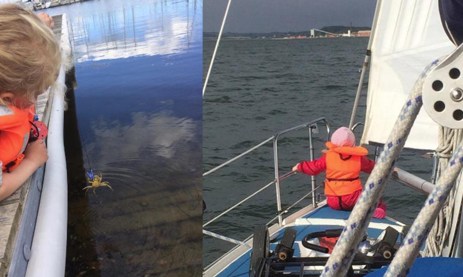 Unge såvel som gamle har glæde af ferier på vandet, mener Carina Hesselborg. Foto: Carina Hesselborg