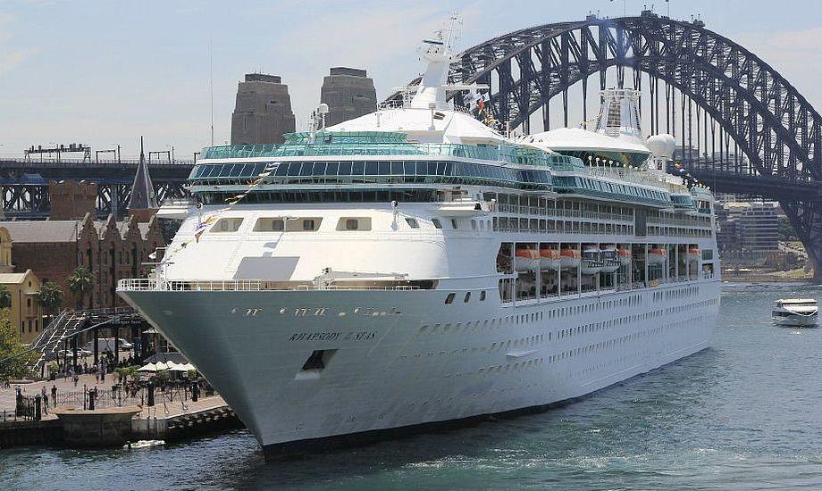 Krydstogtskibet stikker 7,92 meter. Foto: Yachtworld
