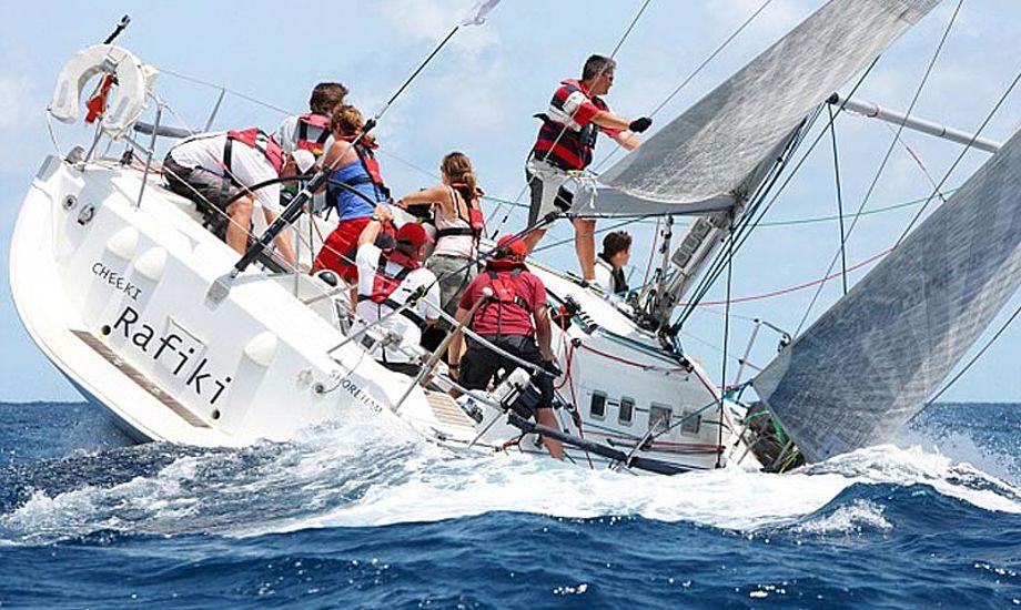 Cheeki Rafiki til Antigua Race Week. Foto: sailingweek.com