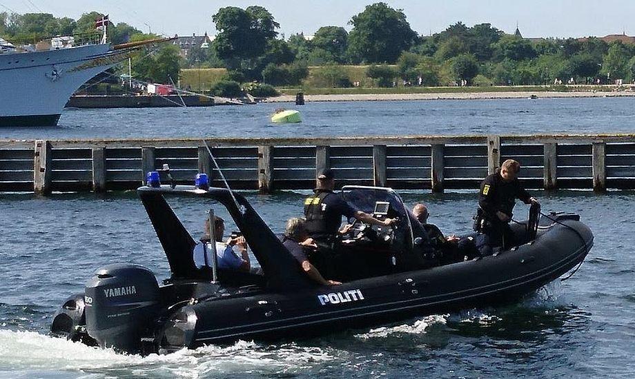 Politiet fik i sommers leveret en ny båd fra Pro-Safe, der skal anvendes til patruljering. Foto: Pro-Safe