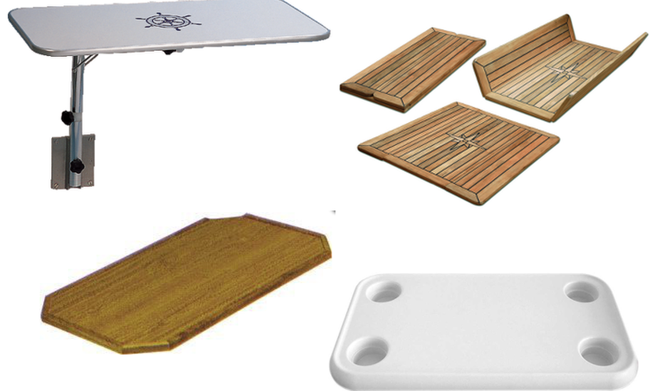 En flot bordplade kan blive prikken over i'et på din båd i næste sæson.