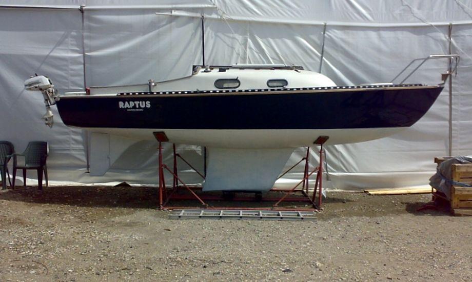 Den flotte D-31 poserer på Drabant 22erens blog.