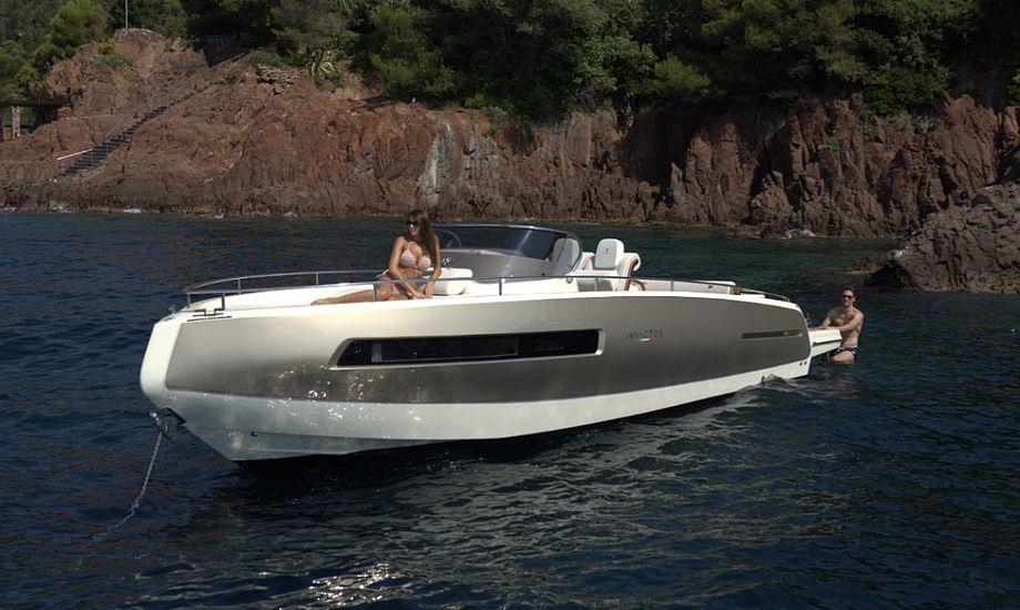 Invictus GT 280 er en af de både, der står klar til at imponere de besøgende i Ishøj. Foto: PR-foto