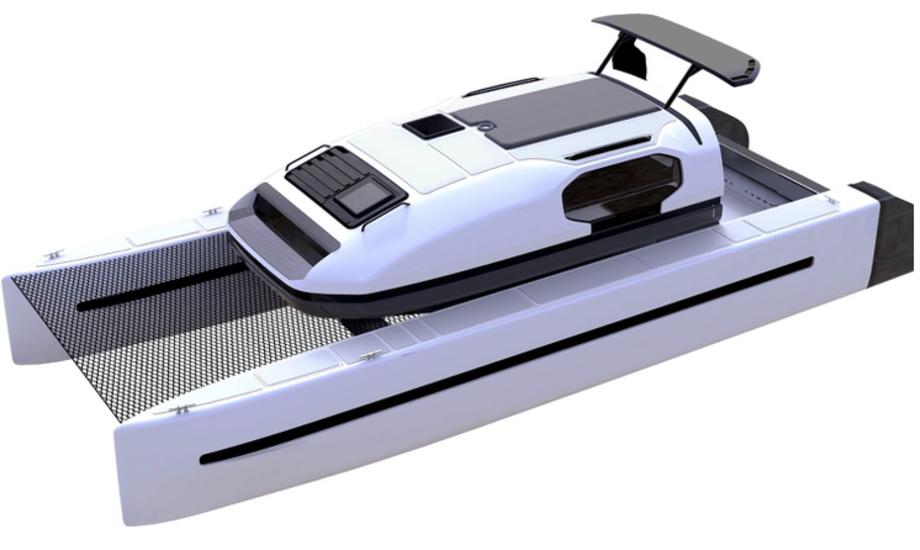 Det italienske firma har brugt fire år på at udvikle båden. Foto: PR-foto