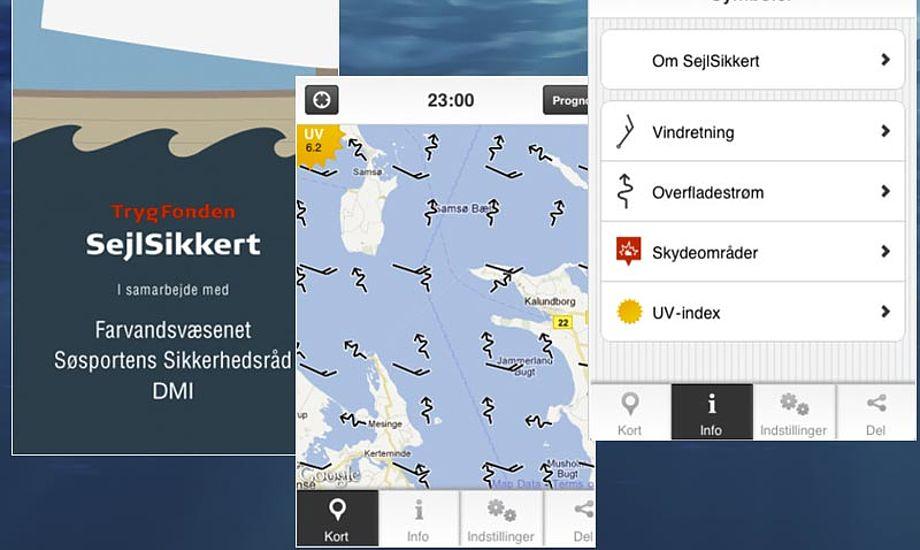 Næste version af Sejlsikkert app'en kommer også til Android.