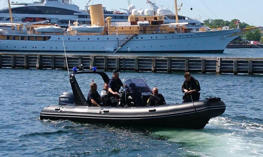 Pro-Safe leverede tidligere på året en RIB til politiet, der skal hjælpe myndighederne i kampen mod ulovligt sejlende vandscootere. Foto: Pro-Safe