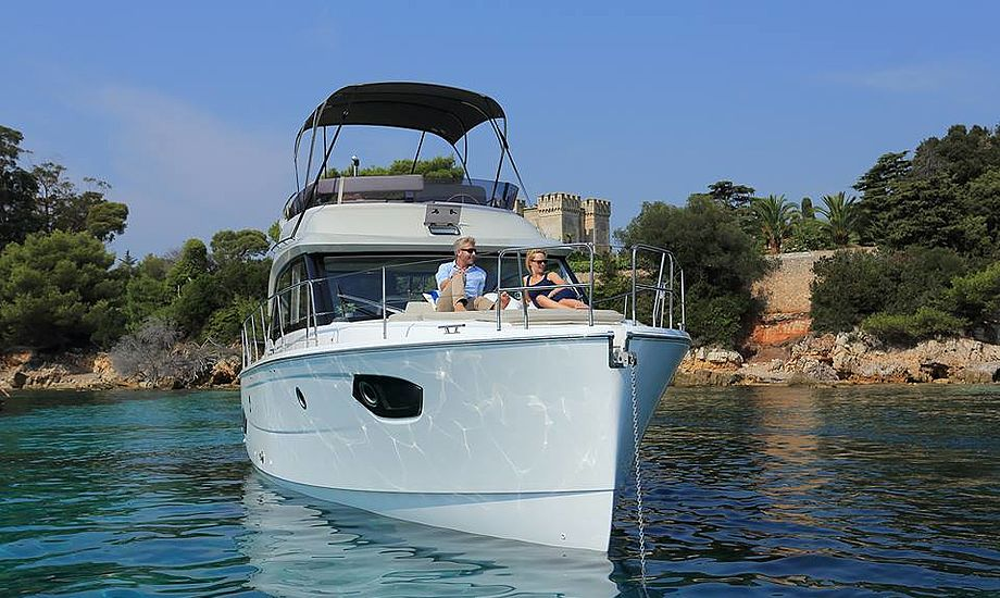 Båden egner sig godt til at sejle i fjorde og på floder: