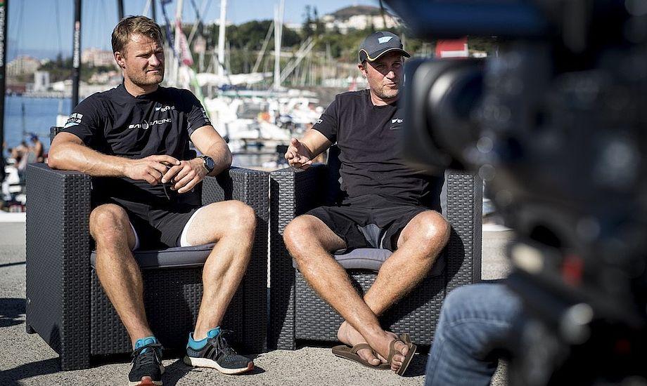 Rasmus Køstner tv, og Jes Gram-Hansen har svært ved at komme på podiet i år. Foto: Lloyd Images