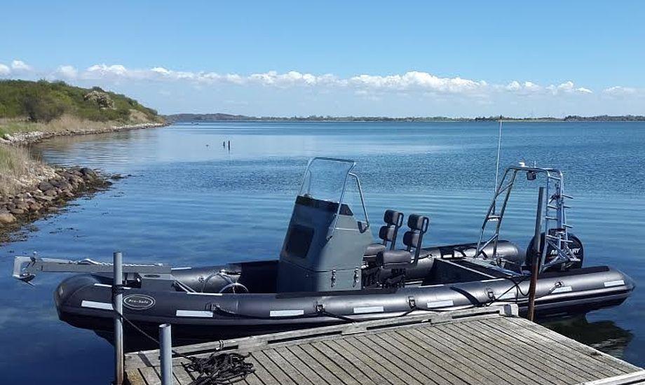 Pro-Safe har nu også leveret fartøjet, Pro 650, til kunde inden for landets grænser. Foto: Pro-Safe
