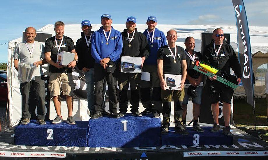 DM i Fladfisk: I team konkurrencen og dermed Danske mestre blev sidste års sølvvindere Team Stormen fra Charlottenlund med Nichals Iversen, John Iversen, Casper Lorentzen, Paw Meinertsen.