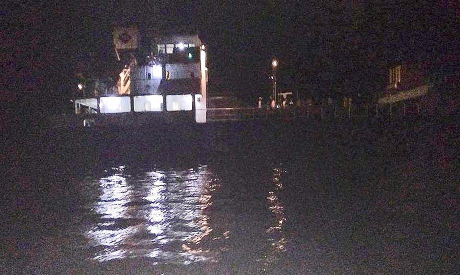 Angrebet fandt sted om natten lokal tid. Foto: Philippine Coast Guard