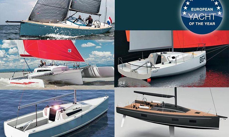 Special Yachts-klassen har fem heftige både med i år.