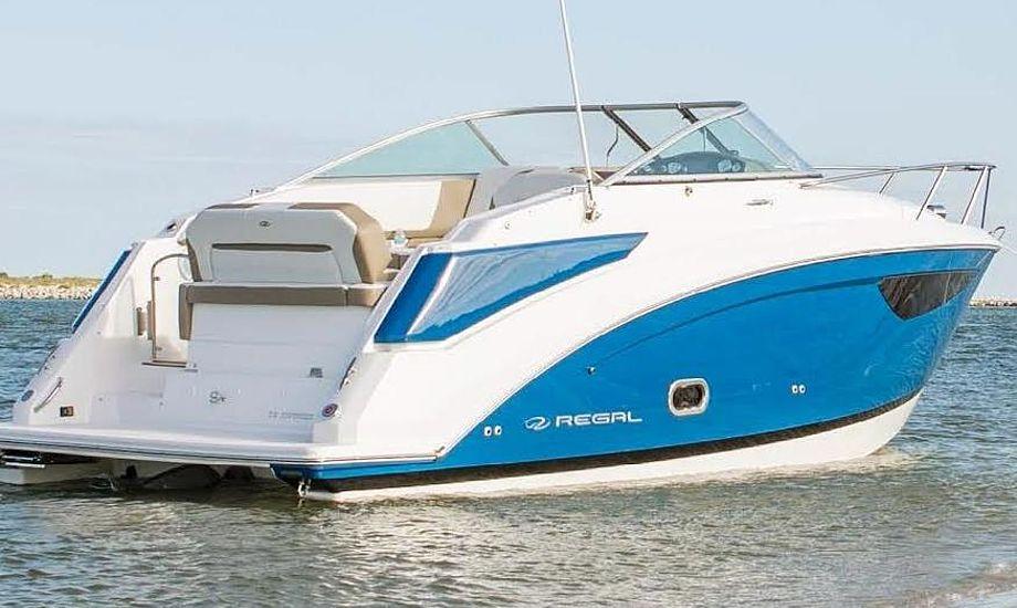 Bådhuset regner med en introduktionspris fra  kr. 699.000 for Regal 26 Express Cruiser. PR-foto