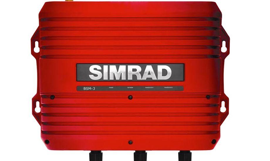 Simrad BSM-3 er optimeret til at samarbejde med Simrads NS serie, herunder de nye NSS evo2 og NSO evo2 systemer. Foto: Simrad