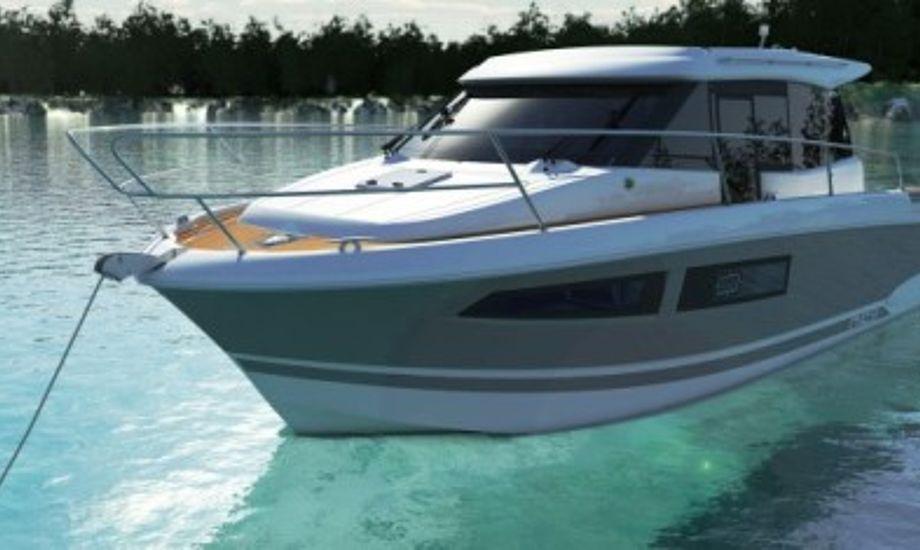 Jeanneau NC 9 sælges i Ishøj. Foto: Jeanneau