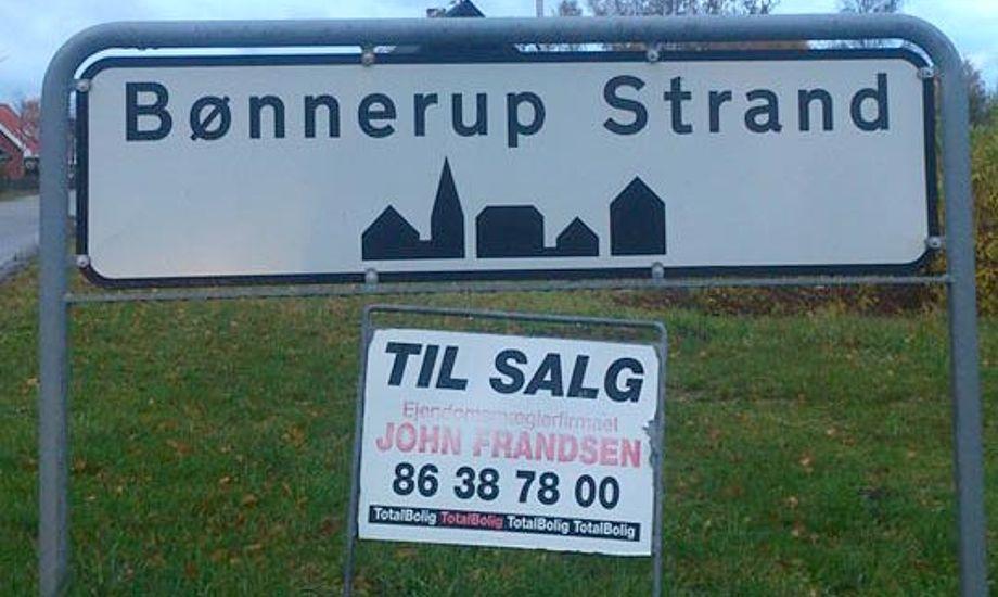 Det var vores lokale sejler i Bønnerup Strand, Erik Venøbo, der faldt over det spændende tilbud! Foto: Erik Venøbo