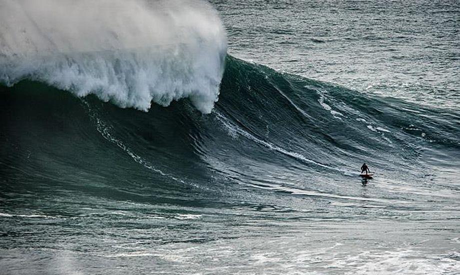 Kæmpebølgen blev sat den 4. februar 2013 i Nordatlanten