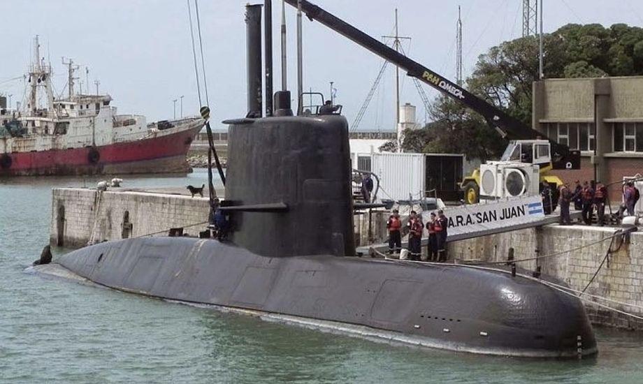 Den 66 meter lange ubåd er bygget i Vesttyskland i 1983.