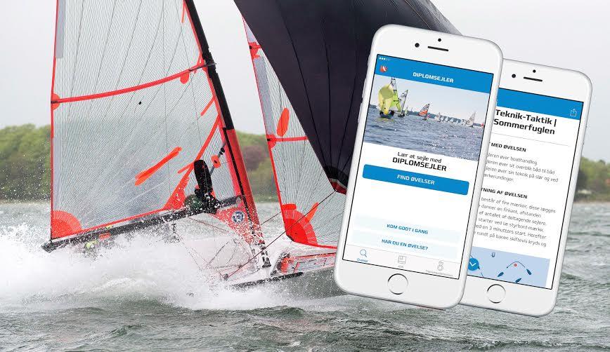 App'en indeholder foreløbigt omkring 50 forskellige træningsøvelser, fortæller Dansk Sejlunion. Foto: Christian Rindom