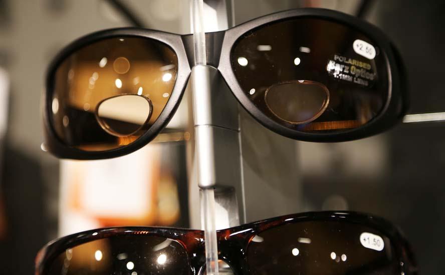 Solbrille du kan læse din kortplotter med Motorbaadsnyt.dk