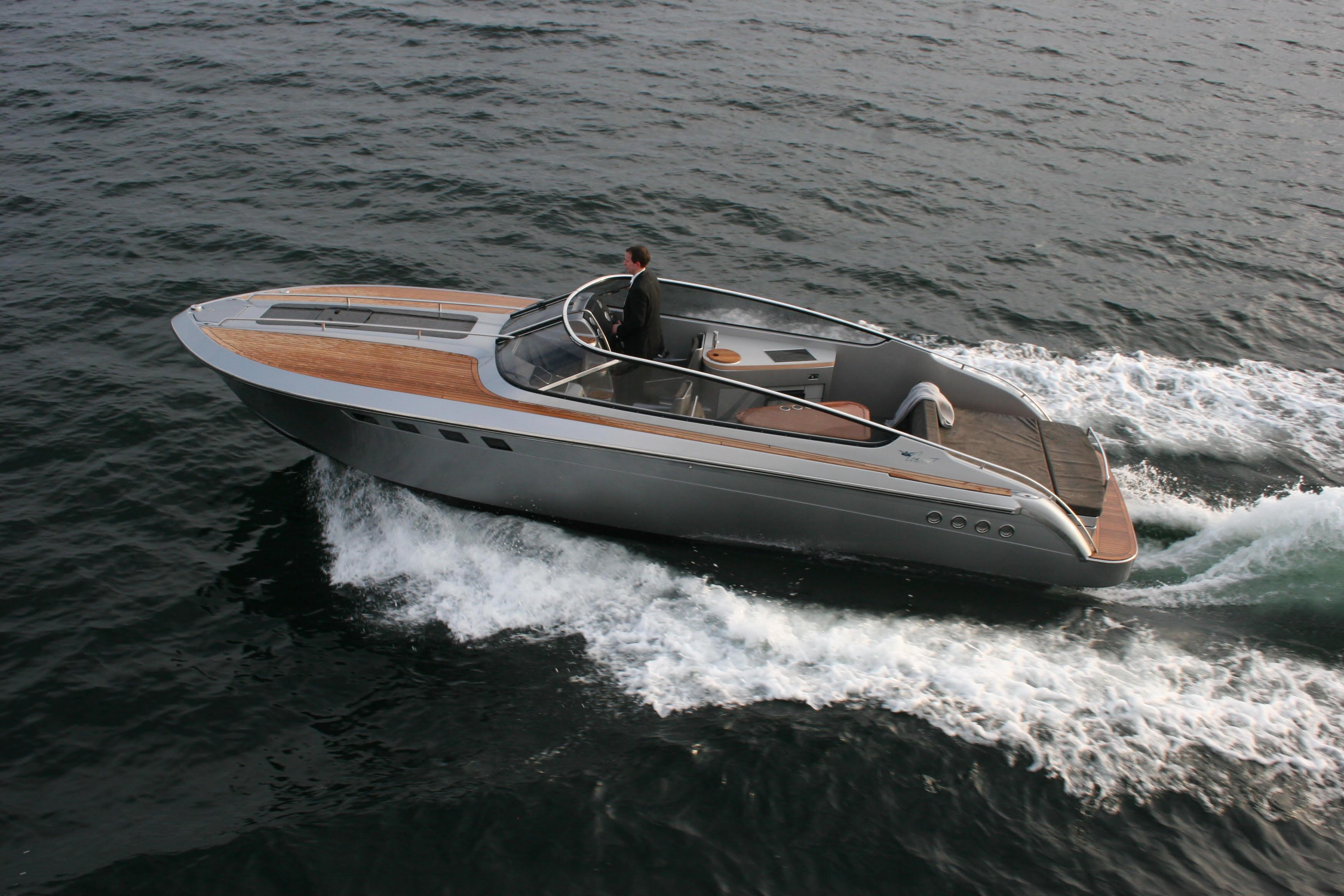 Det sidste skud på stammen fra Coronet Yachts var deres 290 Sport og 290 Weekend. Foto: PR-foto