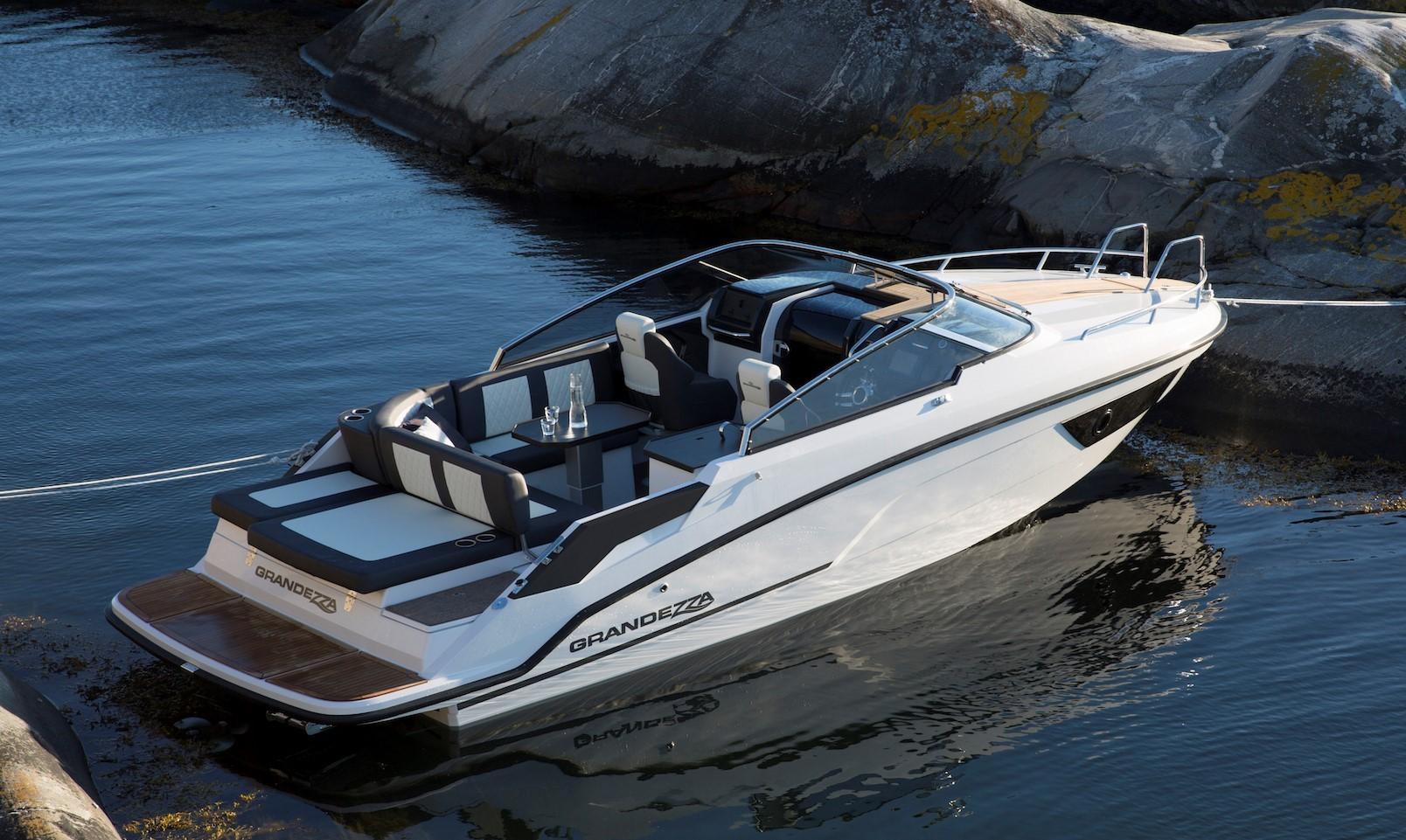 Finn-Marin i Finland bygger i en høj kvalitet med flot finish, Grandezza bådene er deres top linie med både fra 25 – 40 fod bygget til nordiske forhold, siger Baadhuset. PR-foto